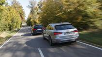 Audi A6 Avant 40 TDI, BMW 520d Touring, Exterieur