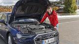 Audi A6 Avant 45 TFSI Quattro, Motorraum