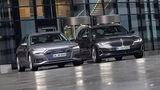 Audi A6 Avant 50 TDI, BMW 530d Touring, Exterieur