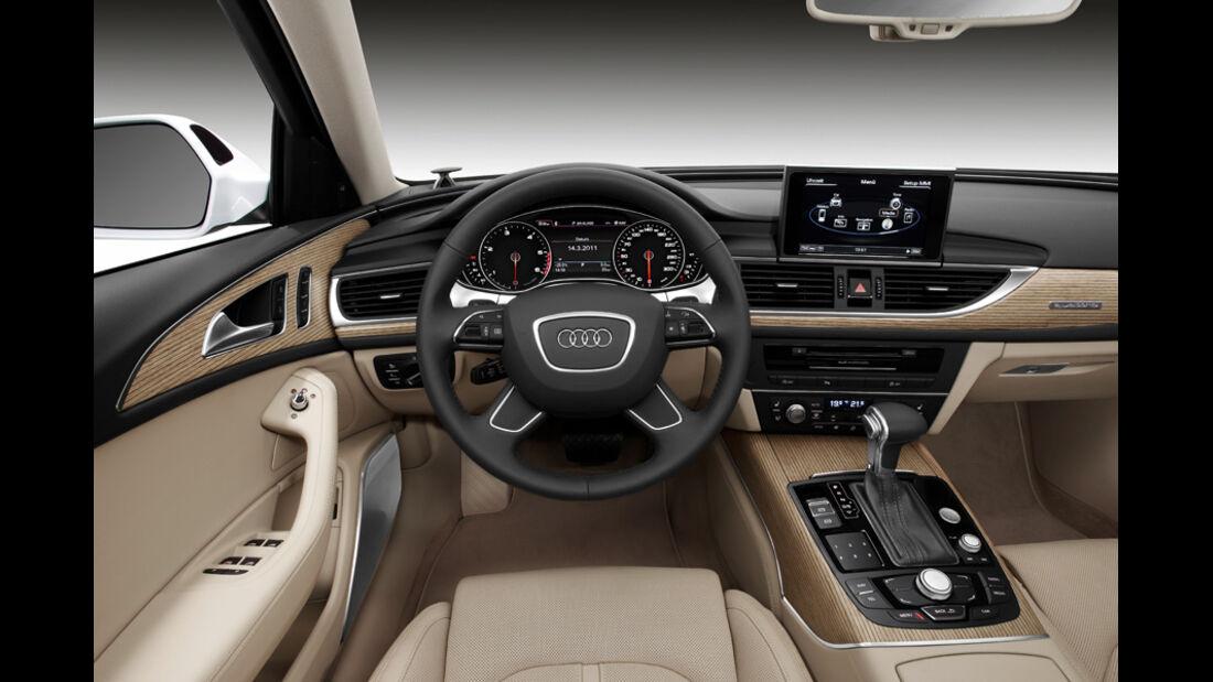 Audi A6 Avant, Cockpit, Lenkrad