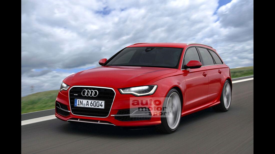 Audi A6 Avant Facelift