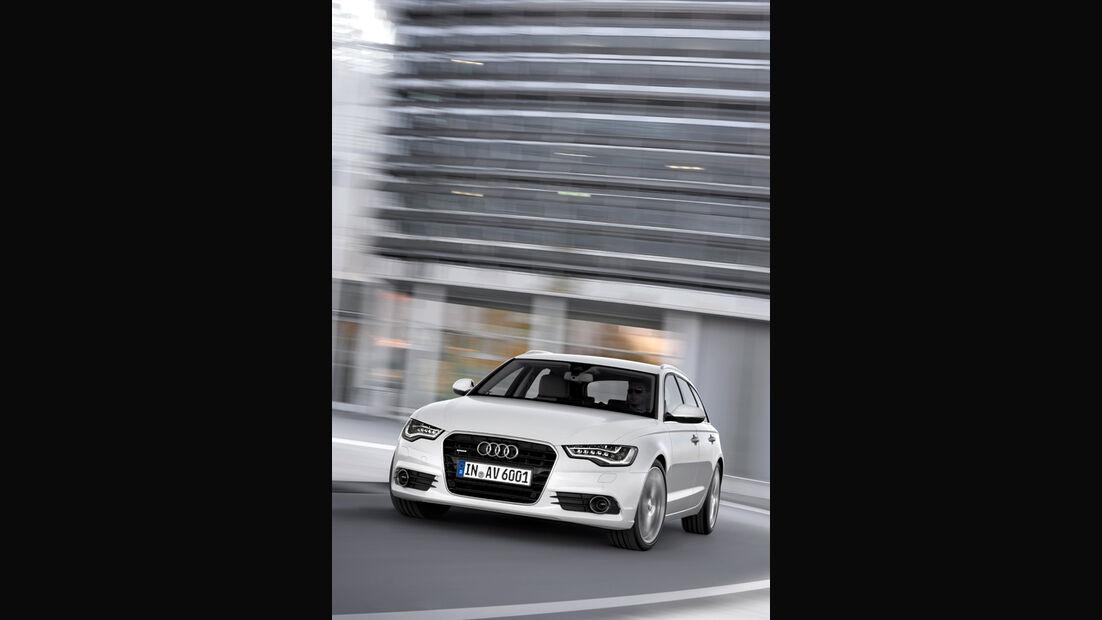 Audi A6 Avant, Front, Frontansicht