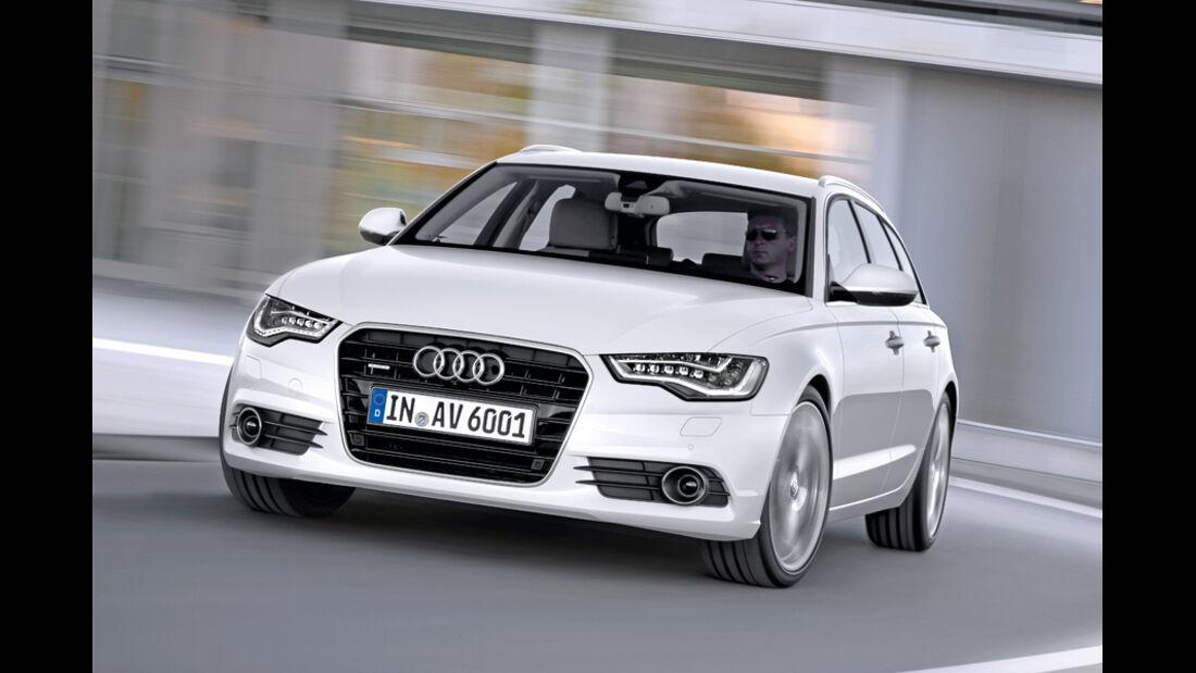 Audi A6 Avant, Front, Kurve