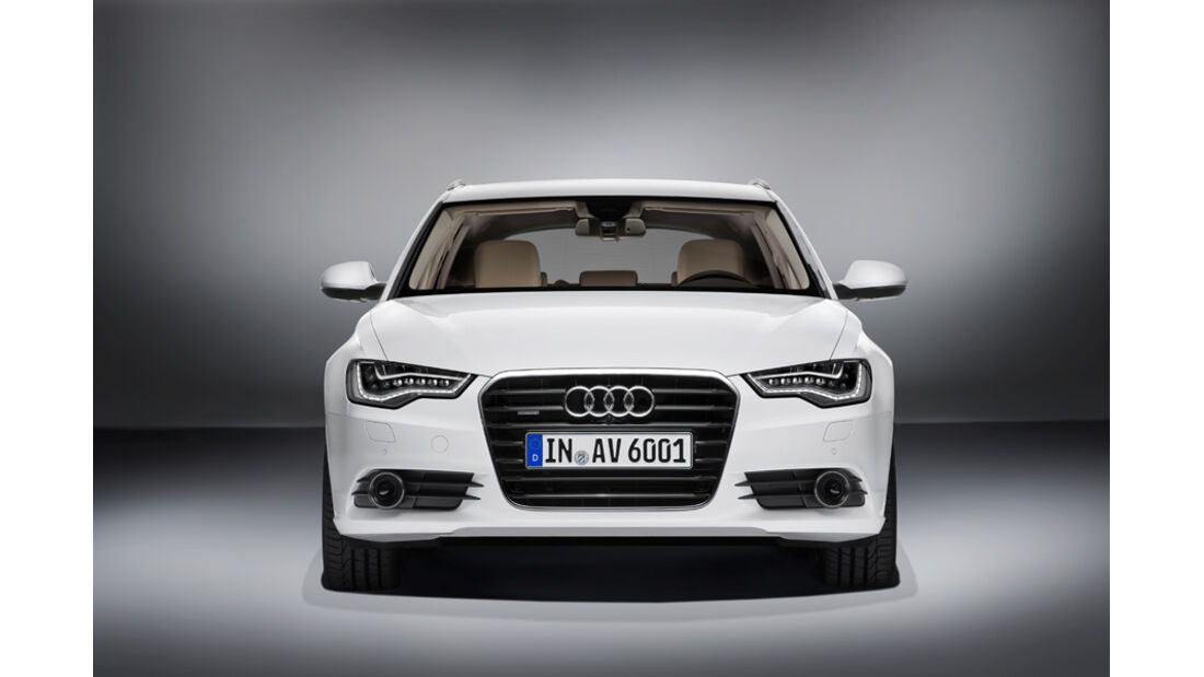 Audi A6 Avant, Front, Motorhaube, Kühlergrill