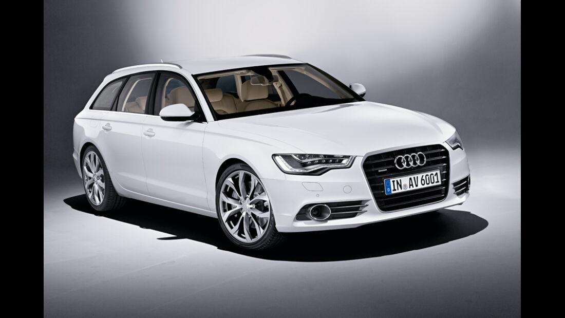 Audi A6 Avant, Frontansicht