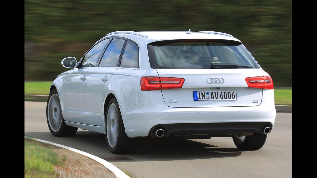 Audi A6 Avant, Heckansicht