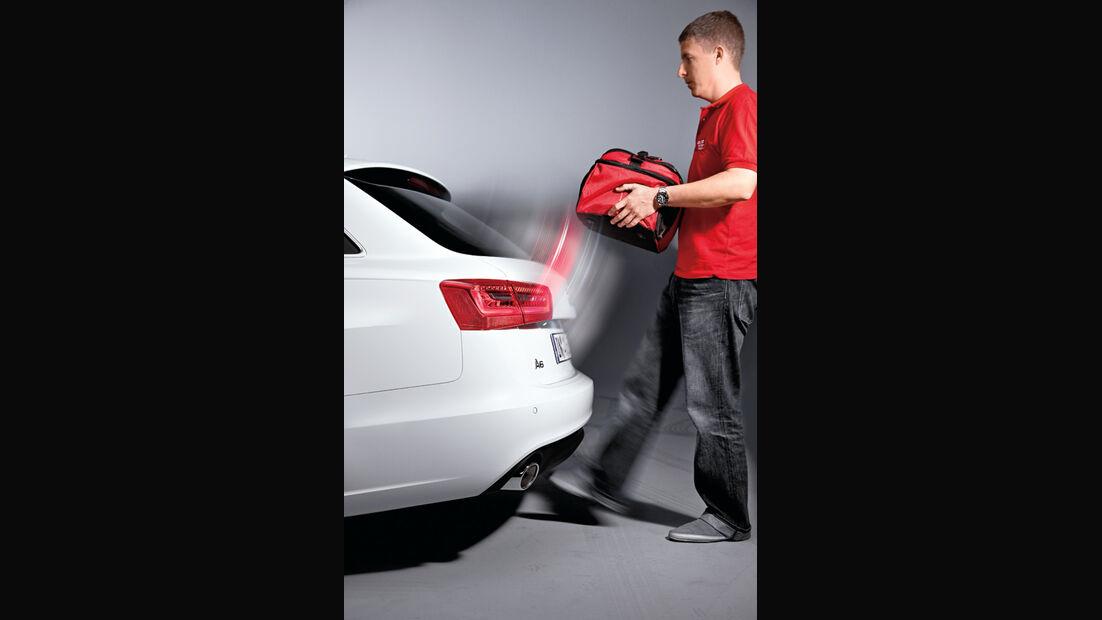 Audi A6 Avant, Heckklappe, Fußbewegung, öffnen