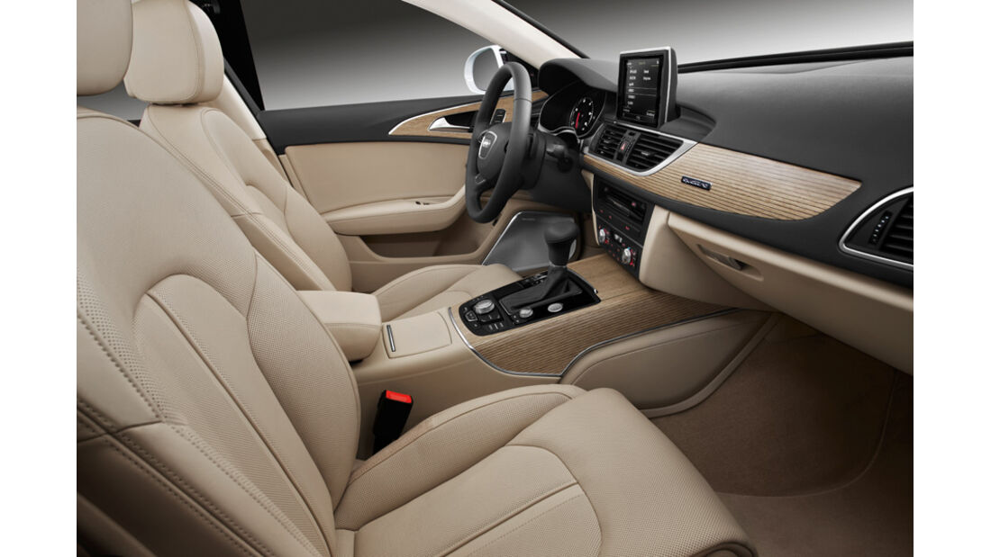 Audi A6 Avant, Inneneinrichtung, Beifahrersitz