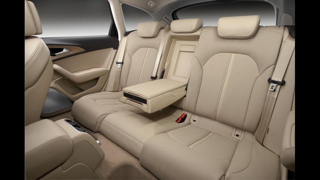 Audi A6 Avant, Inneneinrichtung, Rückbank, Rücksitz