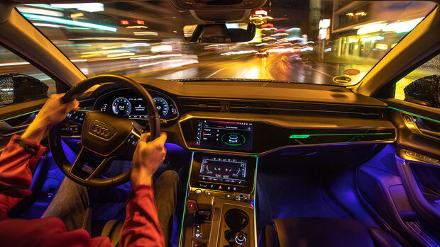 Audi A6 Avant, Interieur