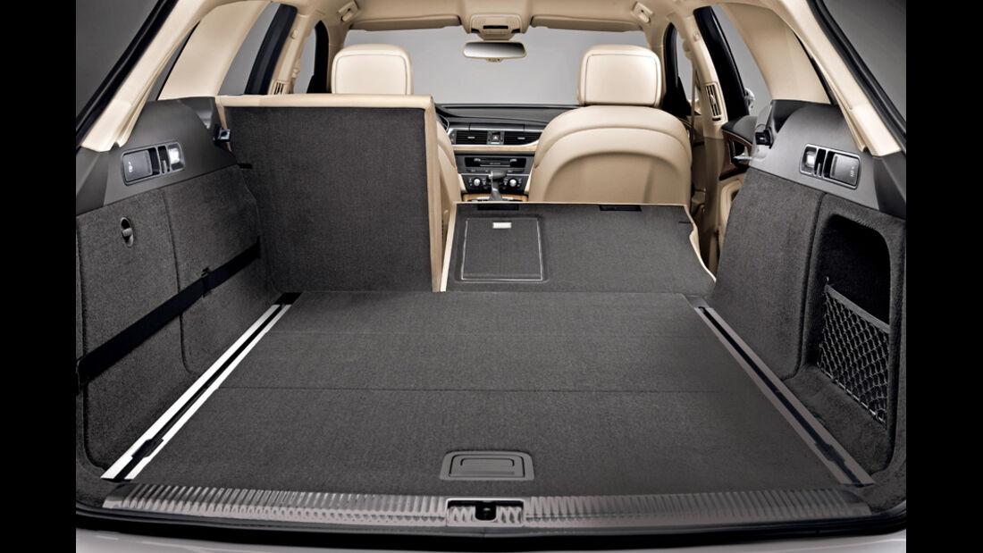 Audi A6 Avant, Kofferraum, Laderaum, Sitz umklappbar