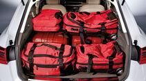 Audi A6 Avant, Kofferraum, voll, Taschen, Ladevolumen