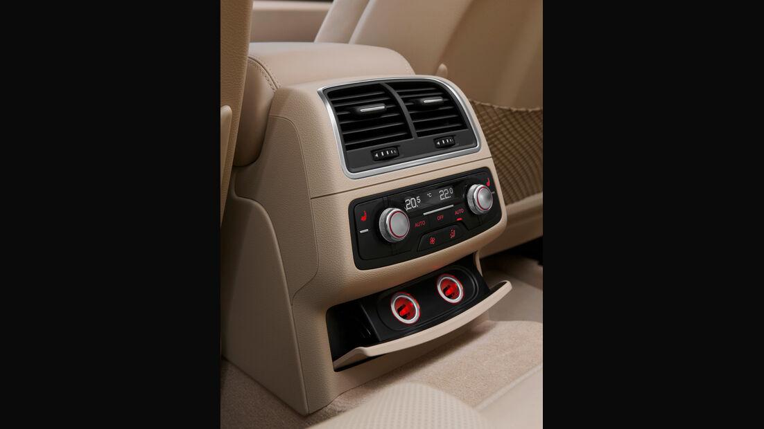 Audi A6 Avant, Mittelkonsole