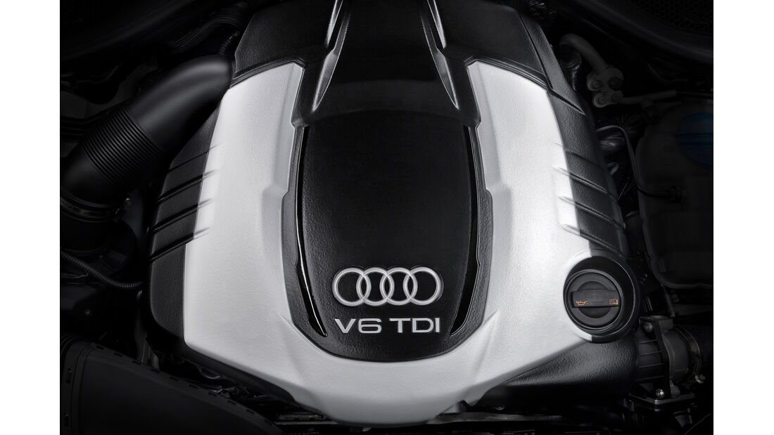 Audi A6 Avant, Motor, Motorblock