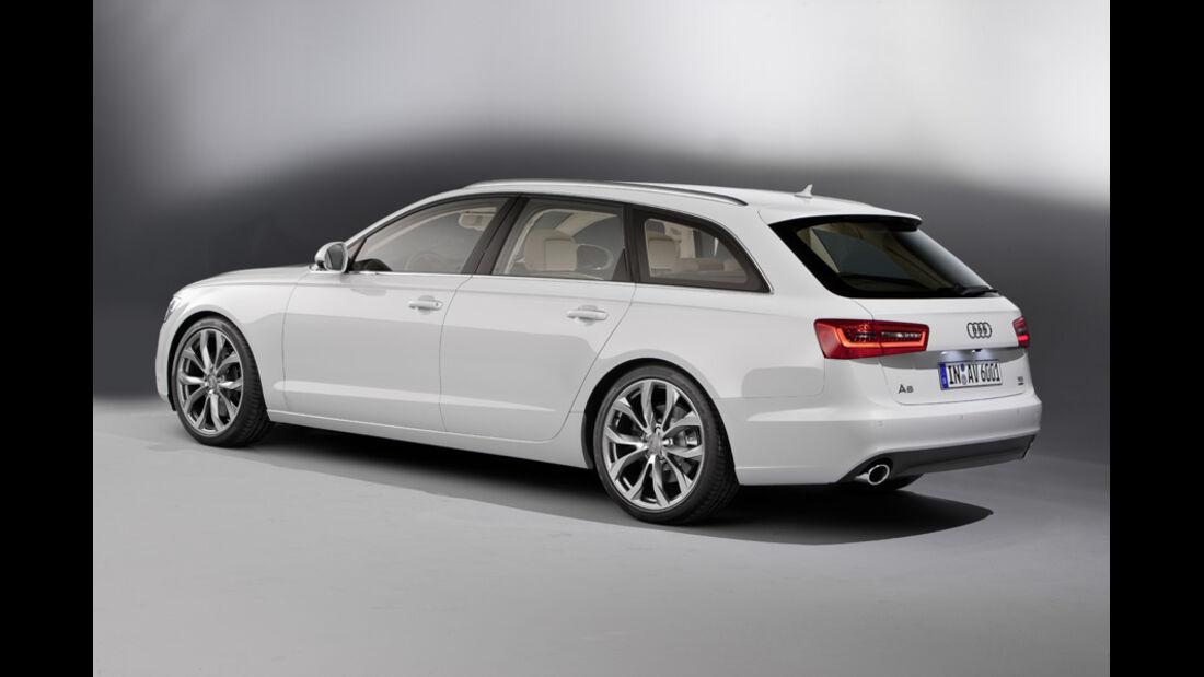Audi A6 Avant, Rückansicht
