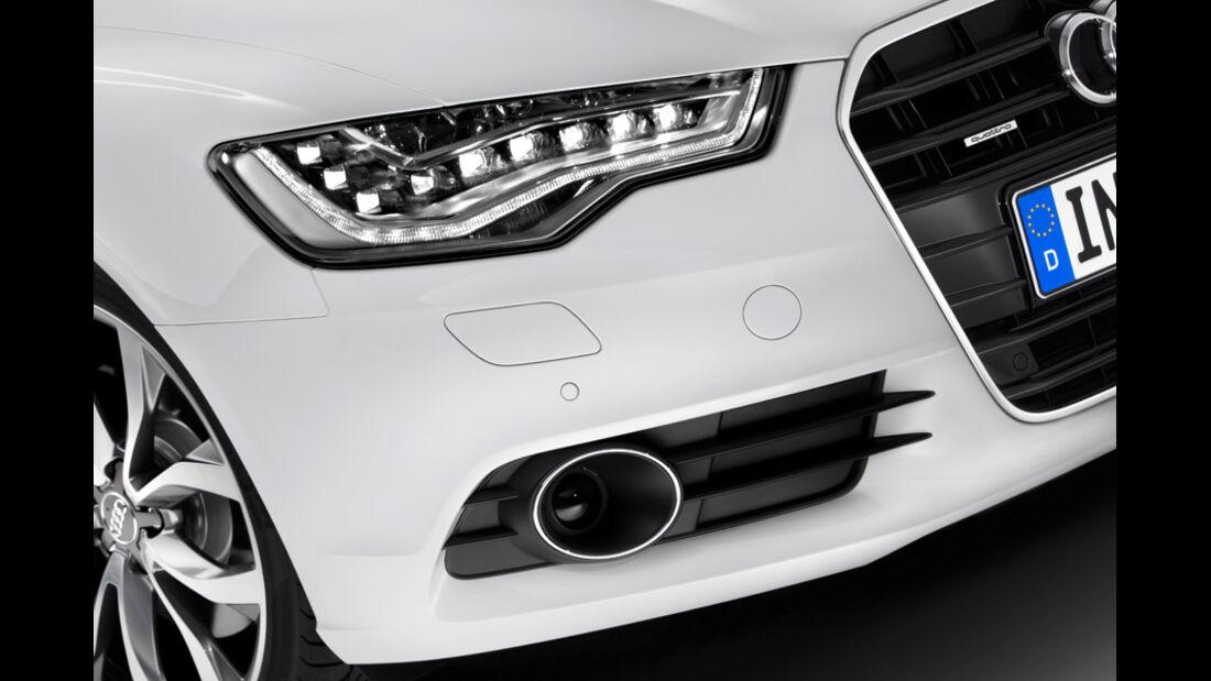 Audi A6 Avant, Scheinwerfer, Led-Lichter