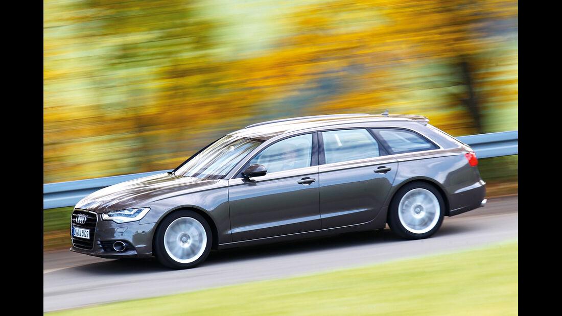Audi A6 Avant, Seitenansicht