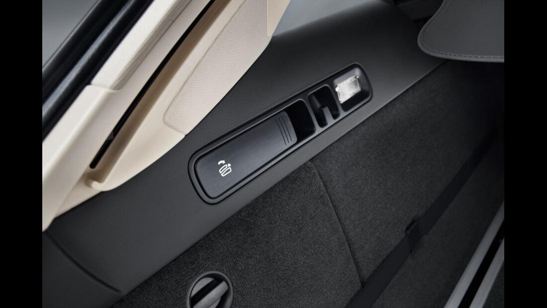 Audi A6 Avant, Sitzhebel, Detail