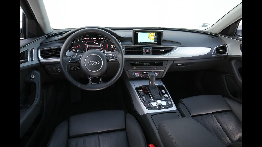 Audi A6, Cockpit