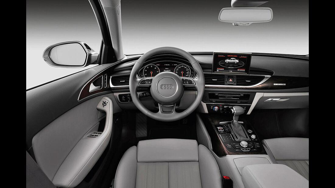 Audi A6, Cockpit, Innenraum