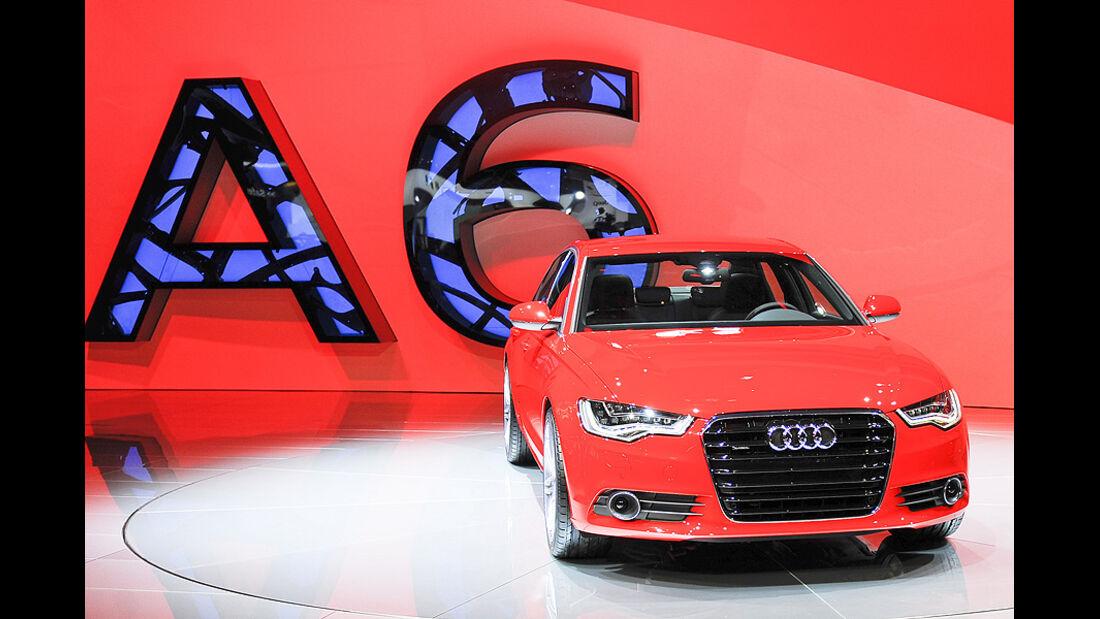 Audi A6, Detroit Motor Show