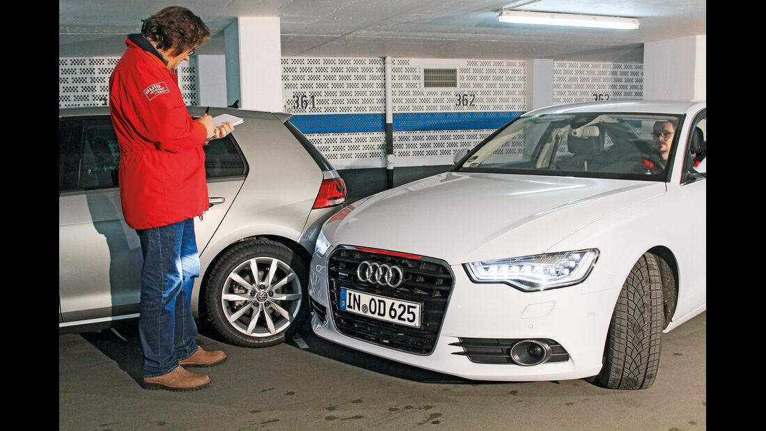 Audi A6, Einparktest