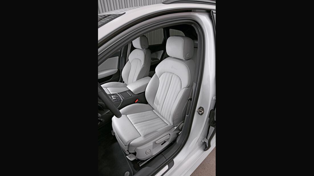 Audi A6, Fahrersitz