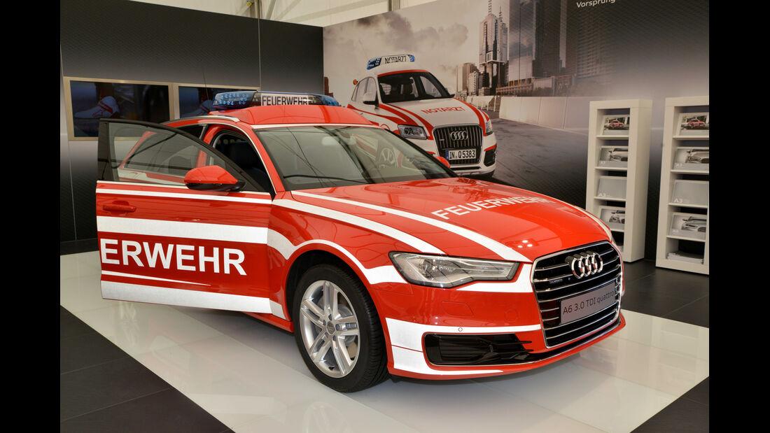 Audi A6 Feuerwehr offen