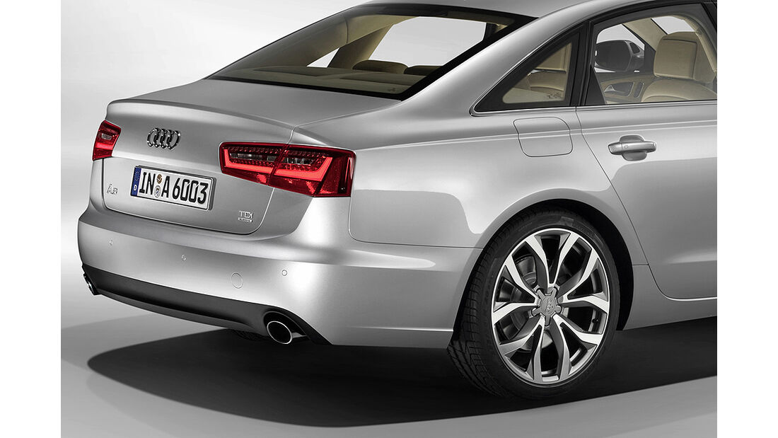 Audi A6, Heck