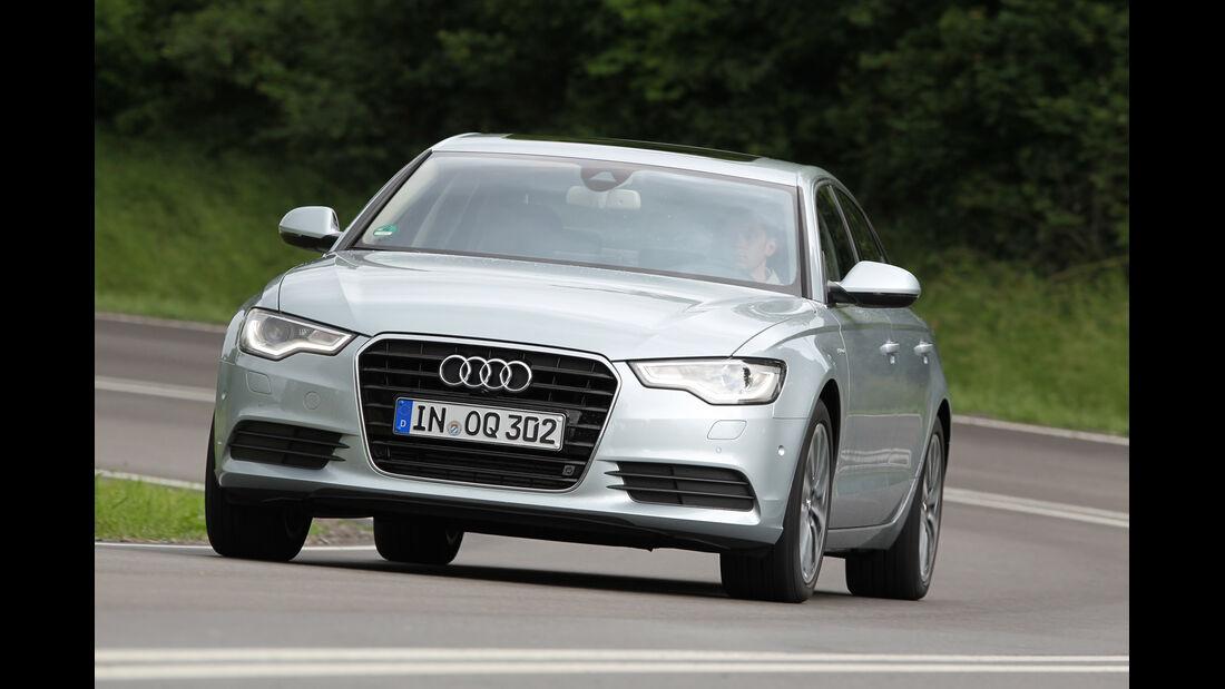 Audi A6 Hybrid, Frontansicht