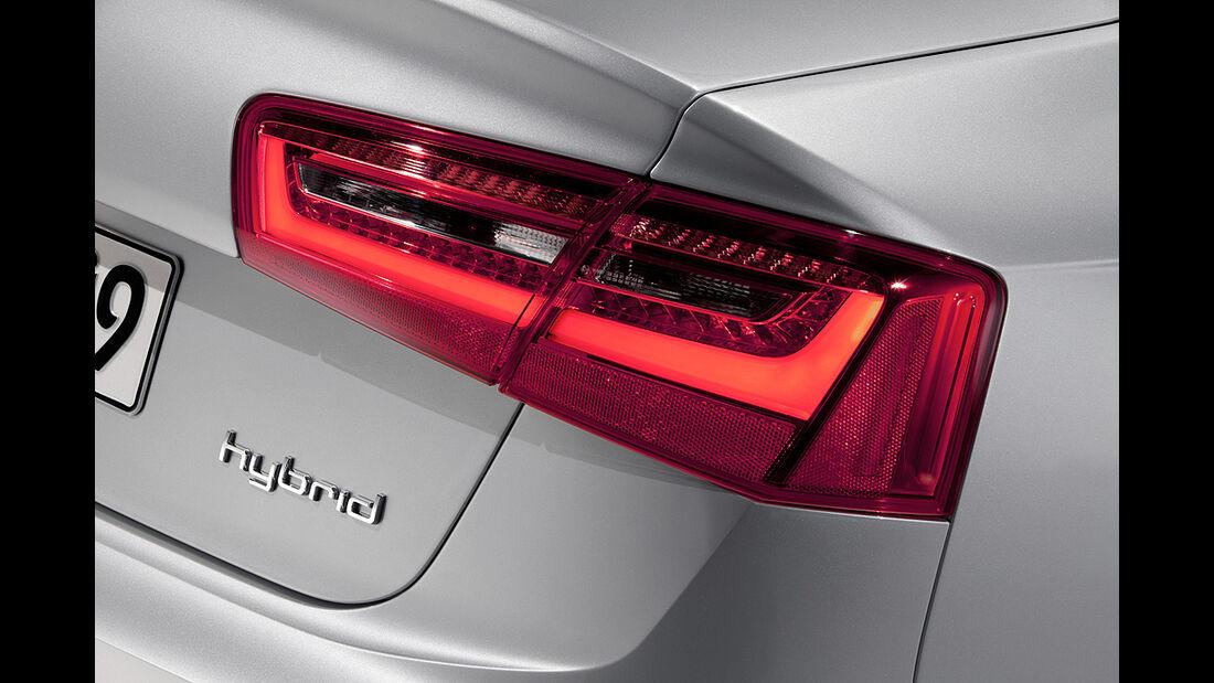 Audi A6 Hybrid, Heck
