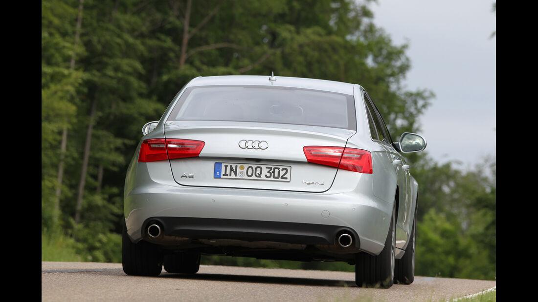 Audi A6 Hybrid, Heckansicht