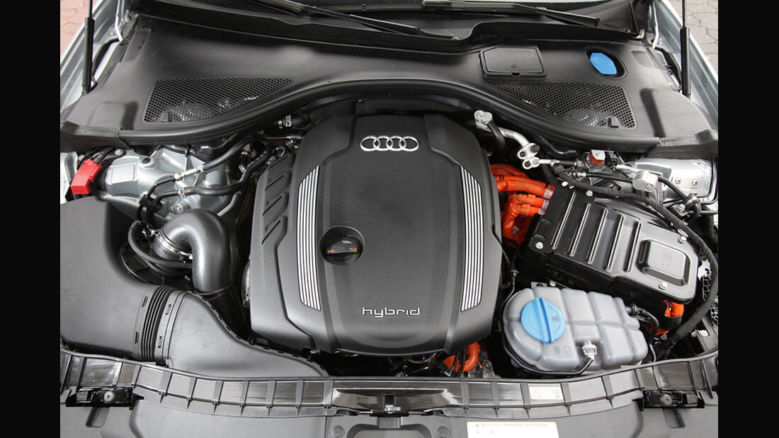 Audi A6 Hybrid, Motor