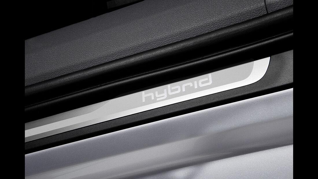 Audi A6 Hybrid, Schriftzug
