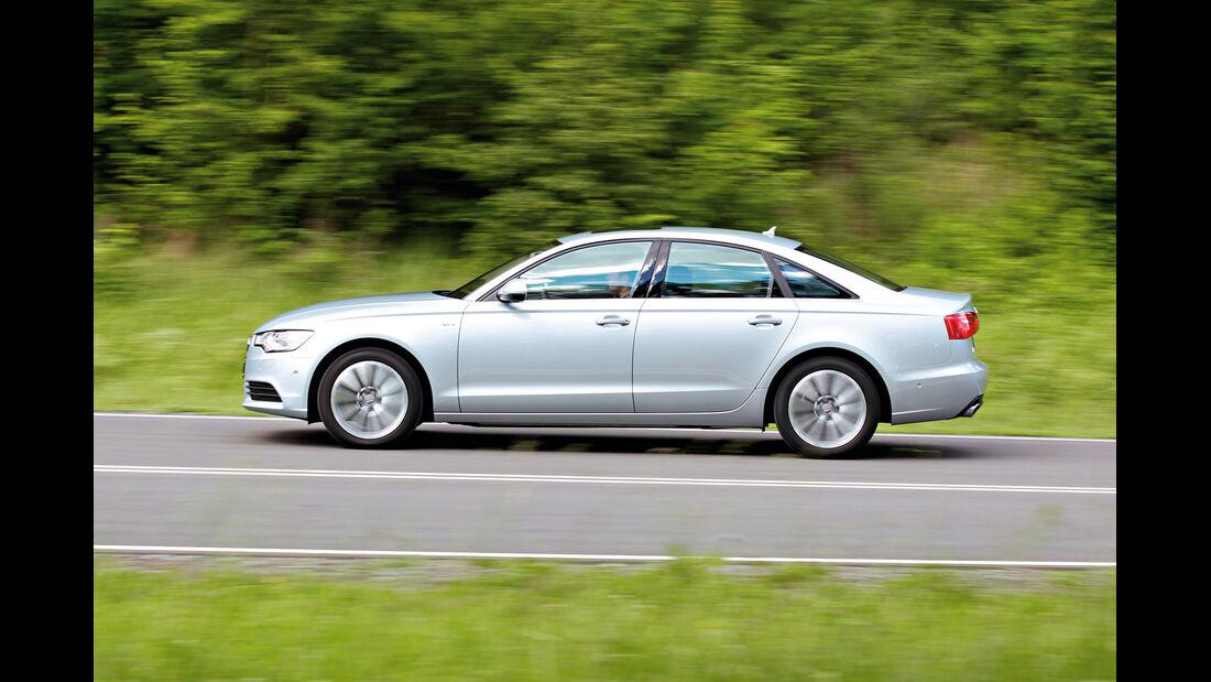 Audi A6 Hybrid, Seitenansicht