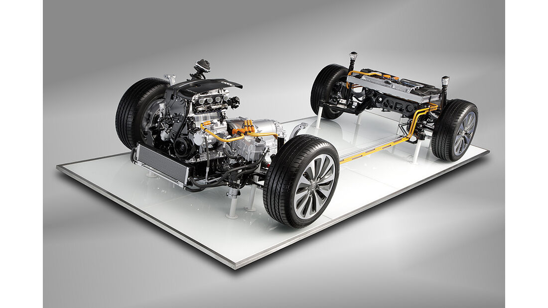 Audi A6 Hybrid, Technik