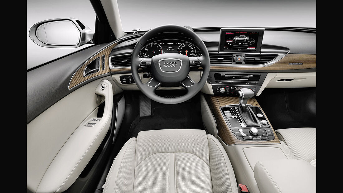 Audi A6, Innenraum, Cockpit