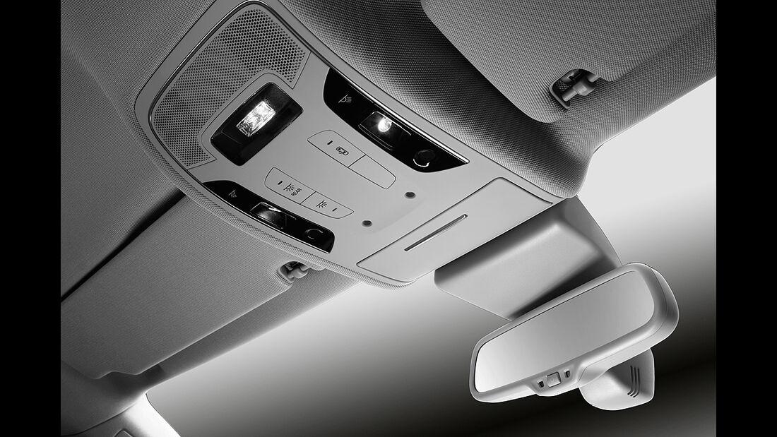 Audi A6, Innenraum, Dachhimmel