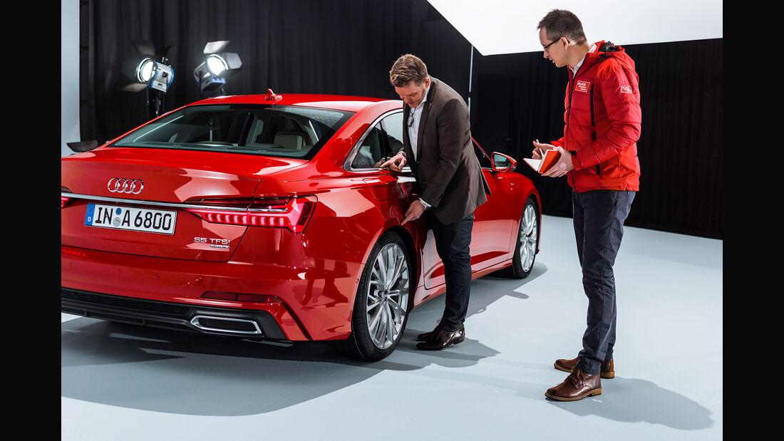 Audi A6 Limousine (2018) Andreas Mindt Exterieur Design