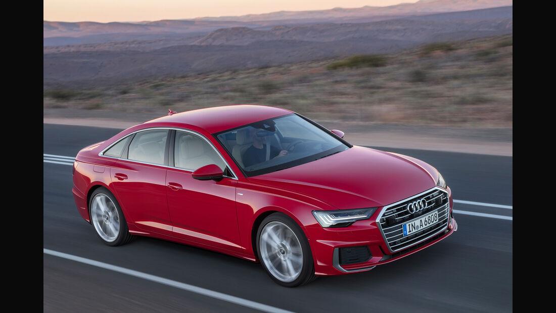 Audi A6 Limousine (2018) Fahraufnahme driving shot