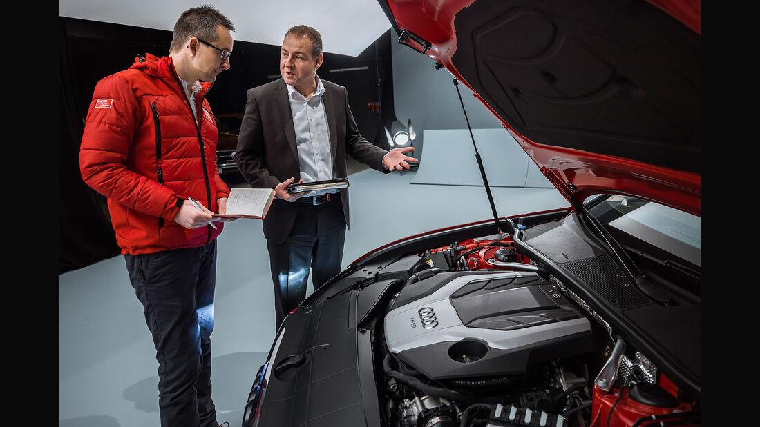 Audi A6 Limousine (2018) Renald Lassowski Leiter Baureihe