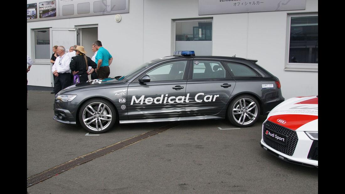 Audi A6 - Medical Car - WEC - Nürburgring - 6-Stunden-Rennen - Sonntag - 24.7.2016
