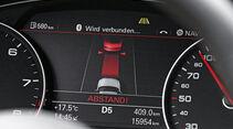 Audi A6, Notbremsassistent