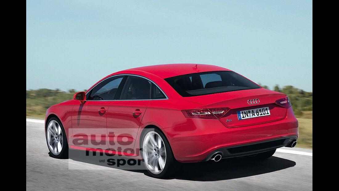Audi A6 Retusche