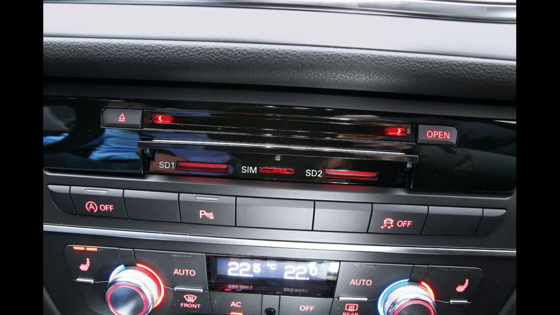 Audi A6, Sim-Karte