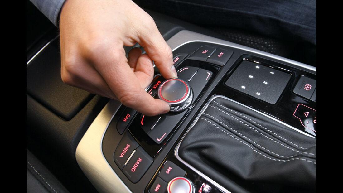 Audi A6, Tentral-Controller
