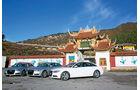 Audi A6, Testflotte, Kloster, China