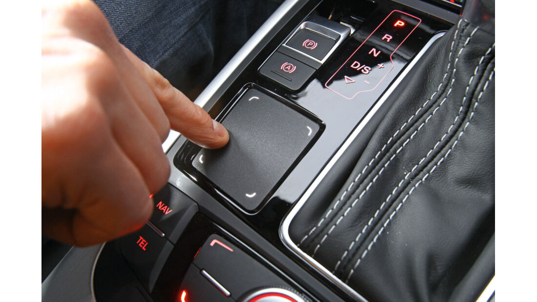 Audi A6, Touch-Pad