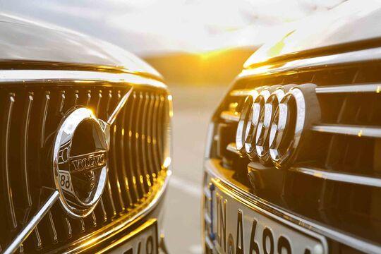 Audi A6, Volvo S90, Test