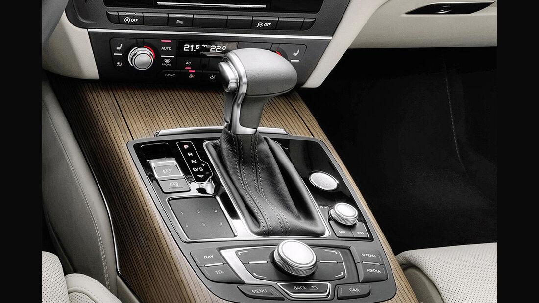 Audi A6, Wählhebel, MMI